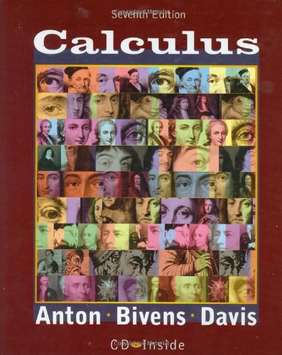 9780471381570: Calculus, 7th Edition, book and CD