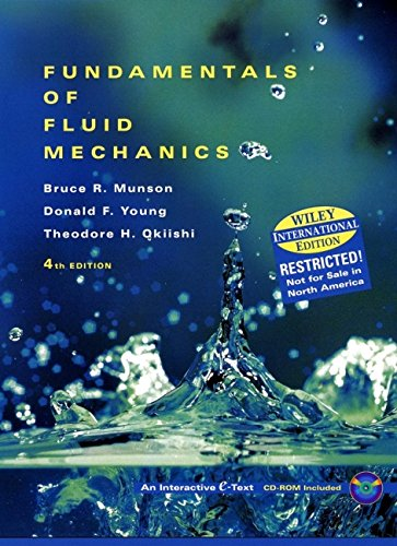 9780471381952: Fundamentals of Fluid Mechanics