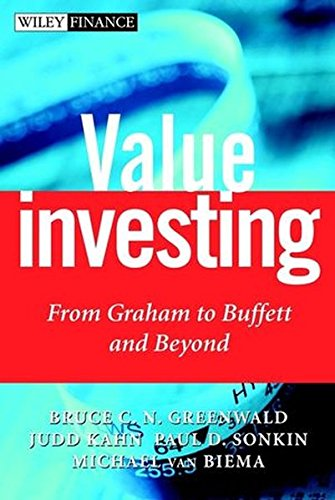 9780471381983: Value Investing: From Graham to Buffett and Beyond