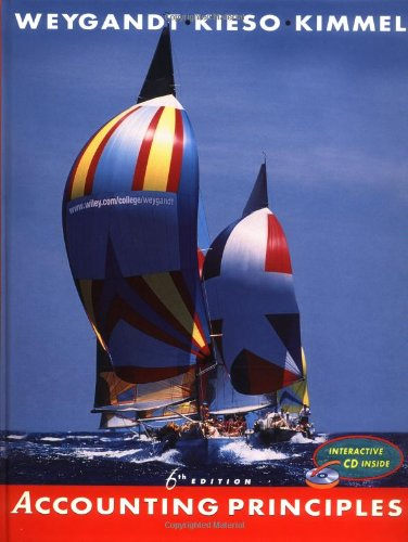 Accounting Principles, with CD, 6th Edition: Jerry J. Weygandt,