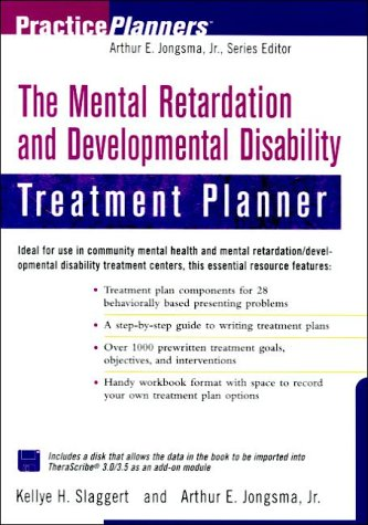 9780471382522: The Mental Retardation and Developmental Disability Treatment Planner