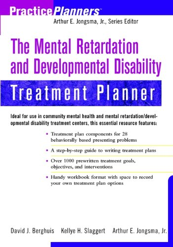 9780471382539: The Mental Retardation and Developmental Disability Treatment Planner