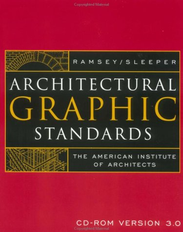 9780471382881: Architectural Graphic Standards, CD-Rom Version 3.0 Single User Upgrade