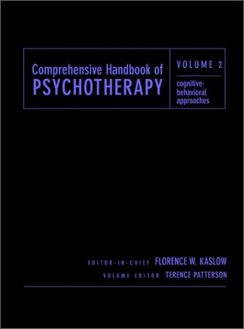 9780471383192: Comprehensive Handbook of Psychotherapy, Cognitive-Behavioral Approaches (Volume 2)