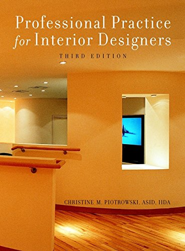 9780471384014: Professional Practice for Interior Designers