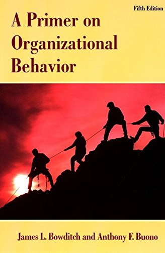 9780471384533: A Primer on Organizational Behavior (Wiley Series in Management)