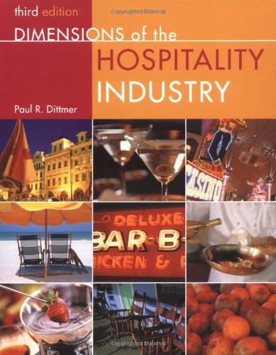 9780471384793: Dimensions of the Hospitality Industry: An Introduction, 3rd Edition