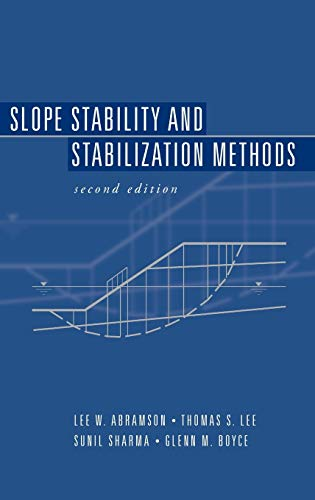 9780471384939: Slope Stability and Stabilization Methods (A Wiley-Interscience publication)