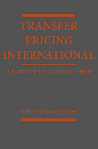 9780471385233: Transfer Pricing International: A Country-by-Country Guide
