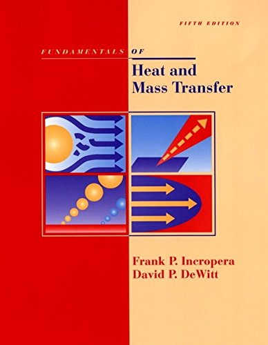 9780471386506: Fundamentals of Heat and Mass Transfer, 5th Edition