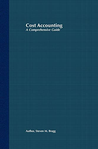 9780471386551: Cost Accounting: A Comprehensive Guide