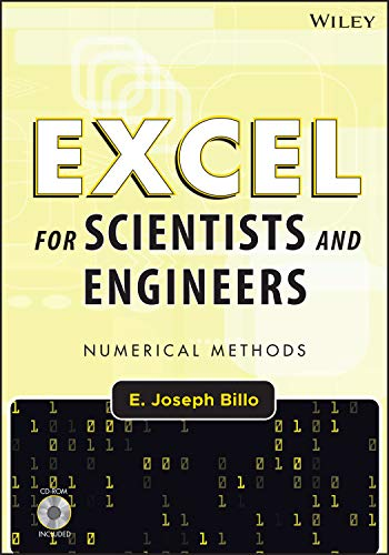 9780471387343: Excel for Scientists and Engineers: Numerical Methods