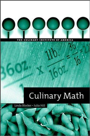 9780471387404: Culinary Math