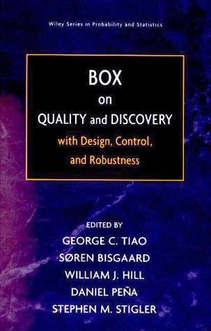 9780471387688: Box on Quality and Discovery: With Design, Control, and Robustness
