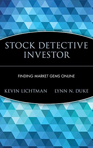 9780471387756: The Stock Detective Investor: Beat the Online Hype and Unearth the Real Stock Market Winners