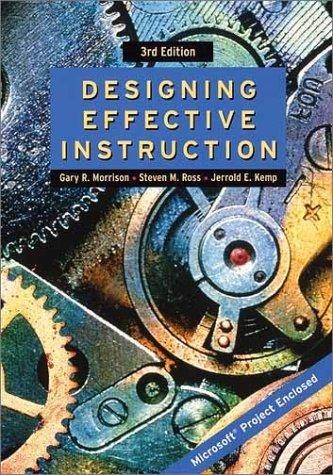 9780471387954: Designing Effective Instruction