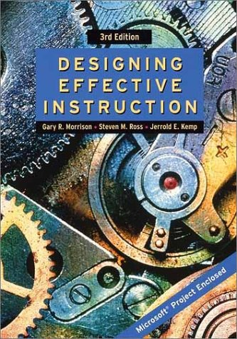 9780471387954: Designing Effective Instruction, 3rd Edition