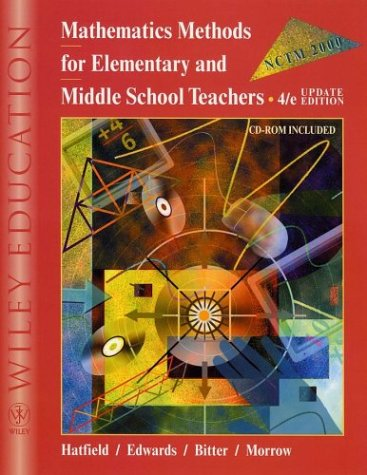 9780471387961: Mathematics Methods for Elementary and Middle School Teachers