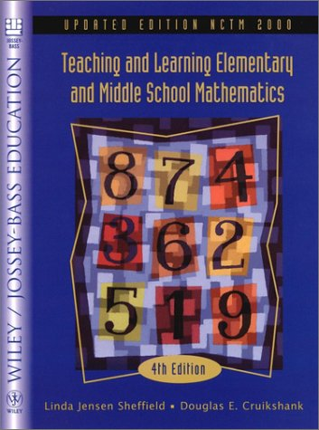 9780471387978: Teaching and Learning Elementary and Middle School Mathematics