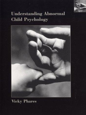 9780471388746: Understanding Abnormal Child Psychology