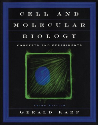 9780471389132: Cell and Molecular Biology: Concepts and Experiments (Book with CD-ROM)