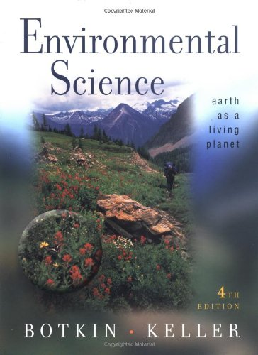 9780471389149: Environmental Science: Earth As a Living Planet: World Student Edition
