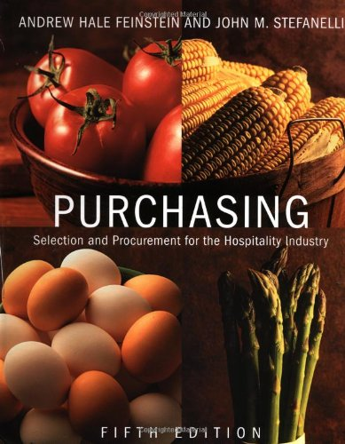 9780471389330: Purchasing: Selection and Procurement for the Hospitality Industry, 5th Edition