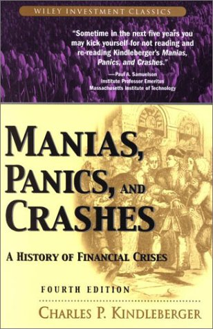 9780471389460: Manias, Panics, and Crashes: A History of Financial Crises