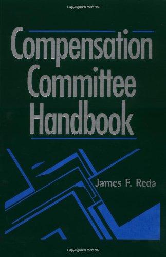 9780471389804: Compensation Committee Handbook