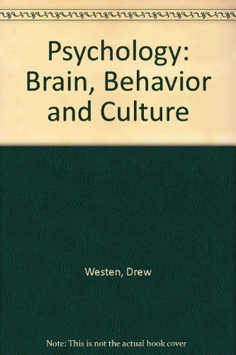 9780471390084: Psychology: Brain, Behavior and Culture