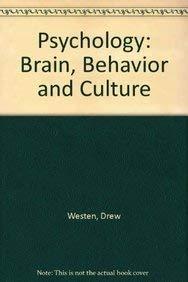 9780471390084: Psychology: Brain, Behavior and Culture