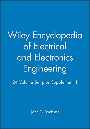 9780471390527: Wiley Encyclopedia of Electrical and Electronics Engineering, 24 Volume Set plus Supplement 1