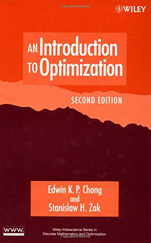 9780471391265: An Introduction to Optimization, 2nd Edition