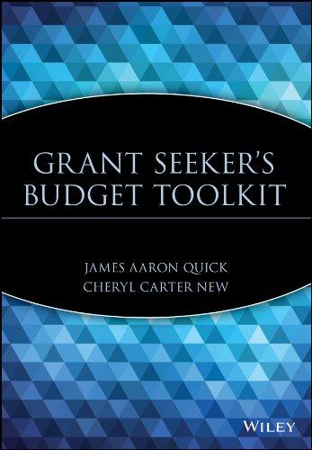 Grant Seeker's Budget Toolkit: James Aaron Quick,