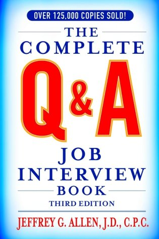9780471391456: The Complete Q/a Job Interview Book