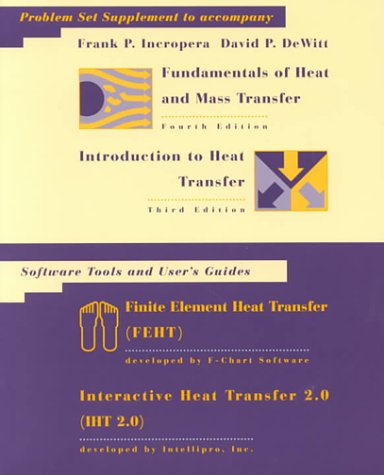 9780471392125: Fundamentals of Heat and Mass Transfer