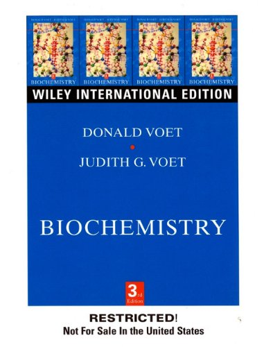 9780471392231: Biochemistry: Biomolecules, Mechanisms of Enzyme Action and Metabolism v. 1
