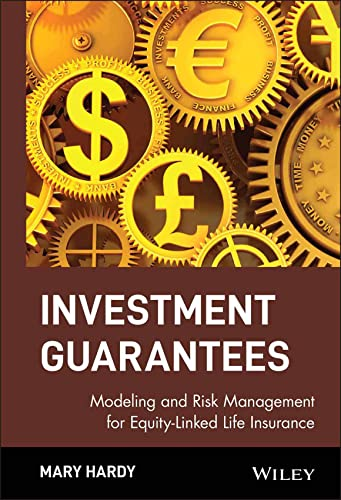 9780471392903: Investment Guarantees: Modeling and Risk Management for Equity-Linked Life Insurance (Wiley Finance)