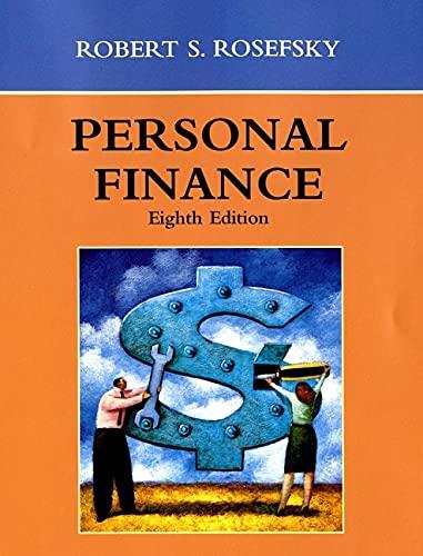9780471393221: Personal Finance