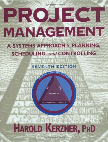 Project Management: A Systems Approach to Planning,: Harold; Ph.D. Kerzner