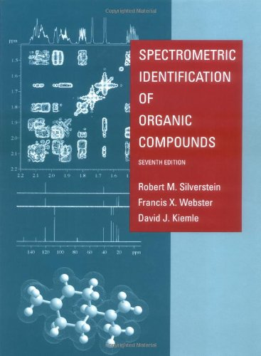 9780471393627: Spectrometric Identification of Organic Compounds
