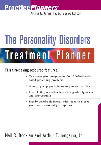 9780471394037: The Personality Disorders Treatment Planner (PracticePlanners)