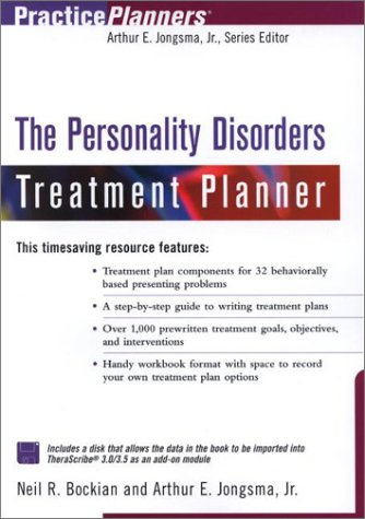9780471394044: The Personality Disorders Treatment Planner (Practice Planners)