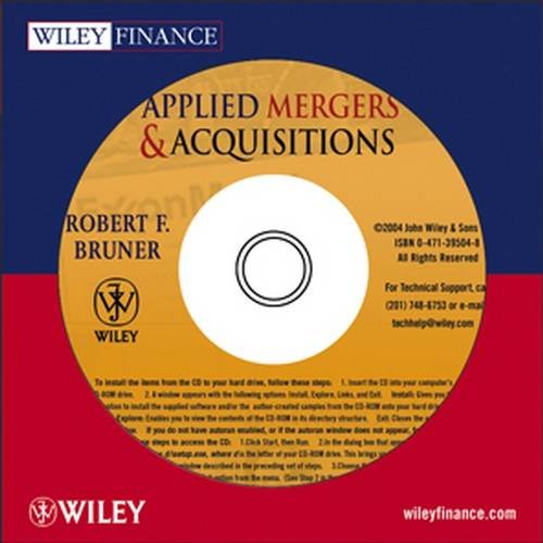 9780471395041: Applied Mergers and Acquisitions CD-ROM (Wiley Finance)