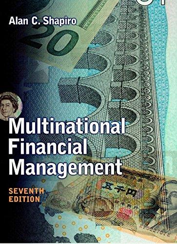 9780471395300: Multinational Financial Management