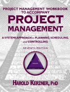 9780471395539: Project Management - A Systems Approach to Planning, Scheduling & Controlling IM 7e