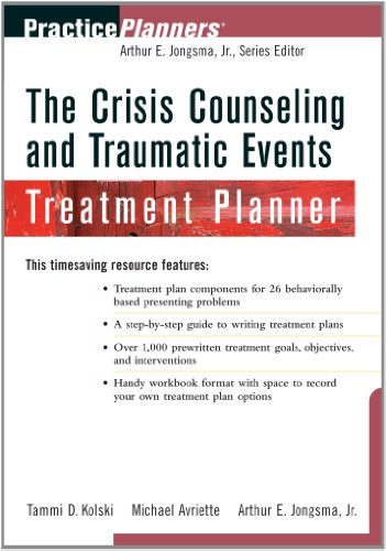 9780471395874: The Crisis Counseling and Traumatic Events Treatment Planner