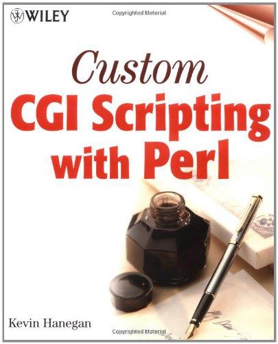 9780471395973: Custom CGI Scripting with Perl
