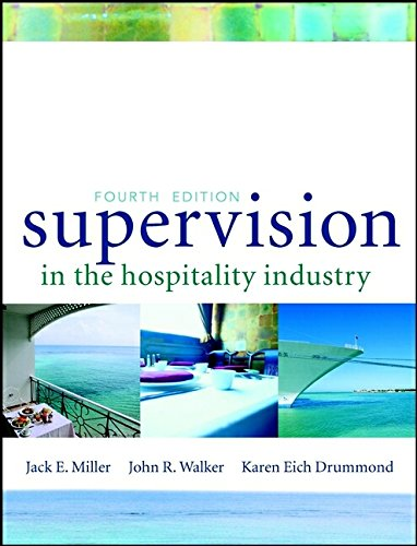 9780471396895: Supervision in the Hospitality Industry