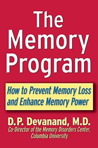 9780471398332: The Memory Program